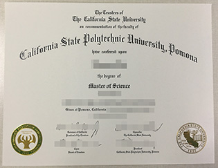 Cal Poly Pomona degree, buy Californ