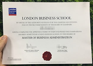 London Business School (LBS) fake de