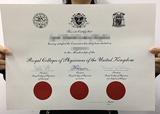 the doctor's MRCP certificate