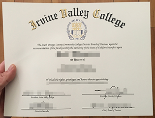 Irvine Valley College fake degree sa