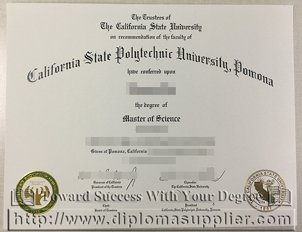 California State Polytechnic University Pomona degree