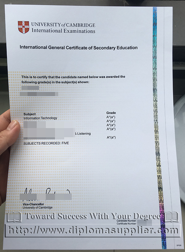 Fake igcse certificate from university of cambridge fake igcse certificate gce certificate yadclub Image collections