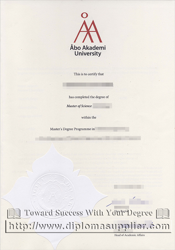 Åbo Akademi University degree, Åbo Akademi University diploma, AAU degree