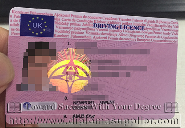 UK Driver Licence, UK DL, Canada Driver Licence