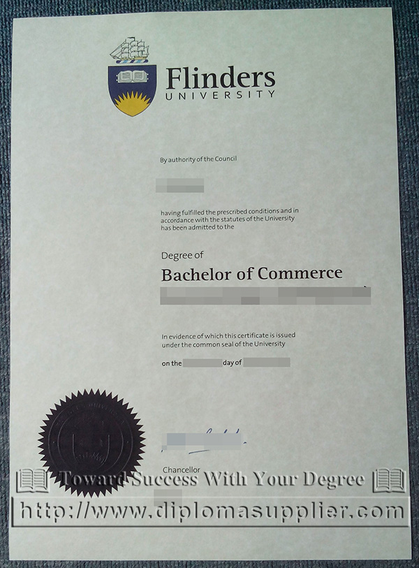 Flinders University degree, Flinders University diploma