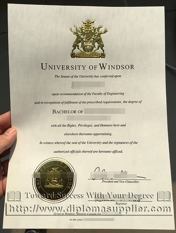 University of Windsor degree, University of Windsor ged diploma
