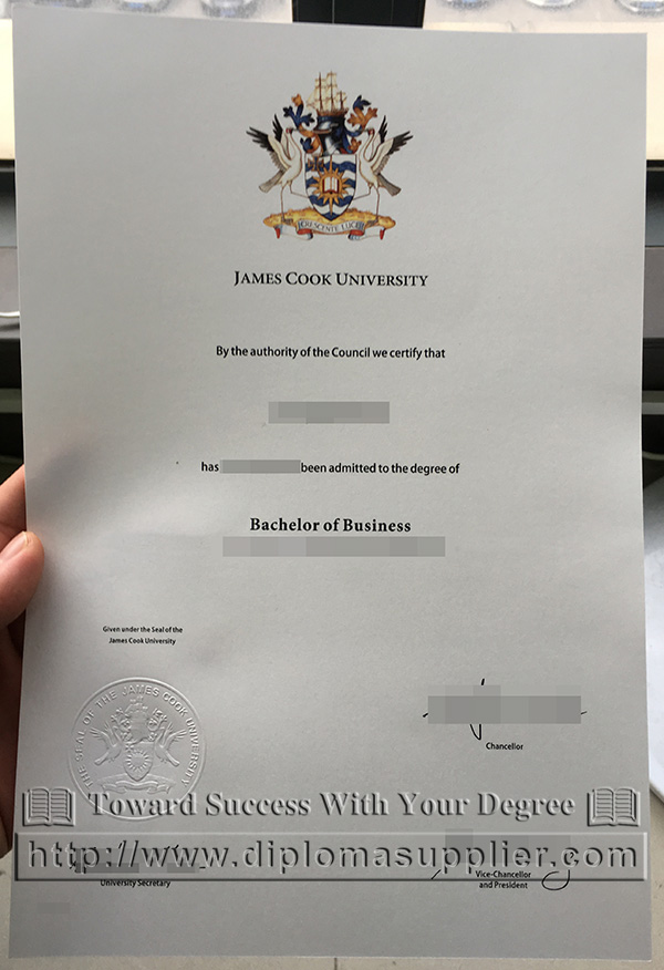 James Cook University/JCU degree, JCU diploma