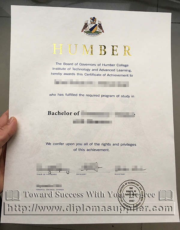 Ontario Humber College Fake Diploma Image Fake Diploma Buy Fake Diploma Online How To Buy Us Fake Diploma