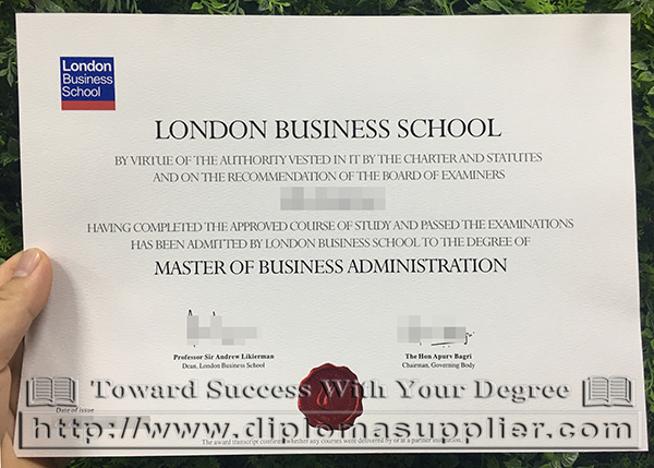 London Business School (LBS) fake degree for sale - Fake Certificate|Fake University Diplomas ...