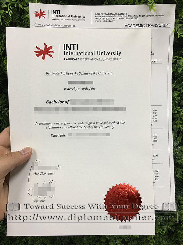 INTI International University degree, INTI diploma, INTI International University diploma, Malaysia degree