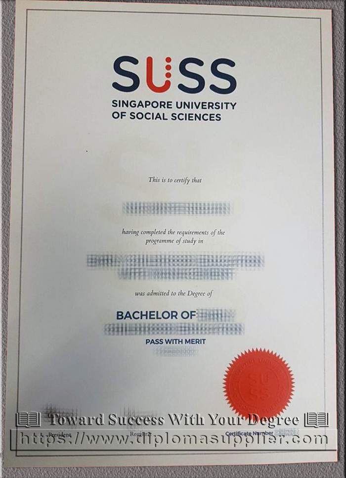 SUSS degree, Singapore University of Social Sciences degree, SUSS diploma