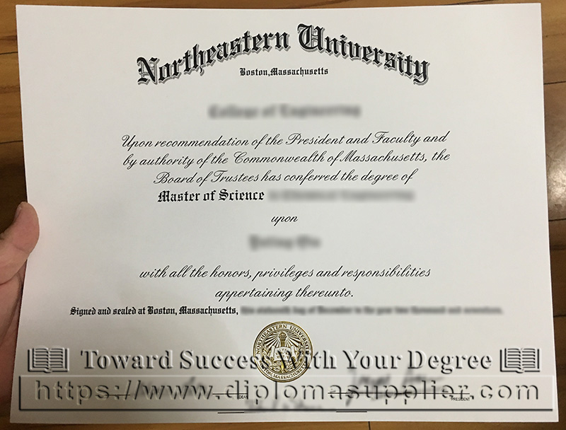 Northeastern University degree