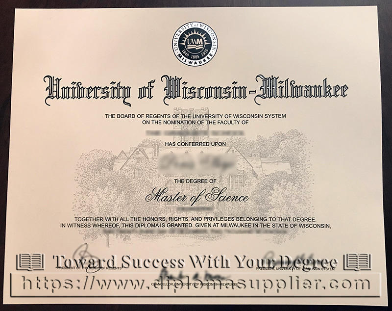 UW-Milwaukee degree, University of Wisconsin Milwaukee diploma, UW-Madison degree